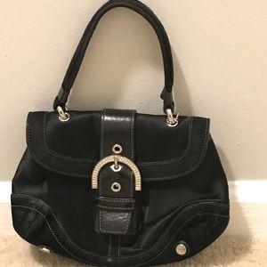 Black coach bag-used